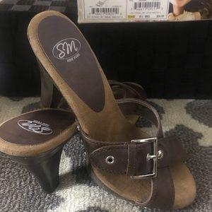 "NIB SM New York ""Jenna"" Heels/Mules Size 8.5"